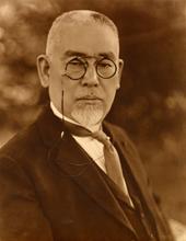 後藤新平(財団法人東京市政調査会所蔵)