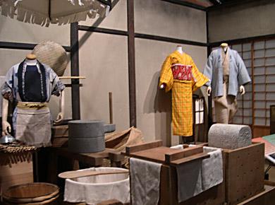 映画「あかね空」で使用した豆腐屋「京や」のセットを再現