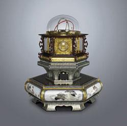 万年自鳴鐘(複製品)