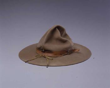ボーイスカウト帽子