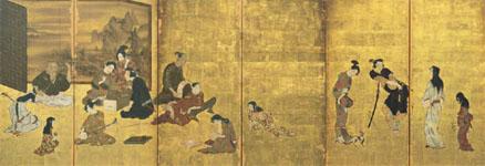 国宝「風俗図屏風(彦根屏風)」
