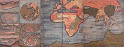 重要文化財 十二都市図世界図屏風