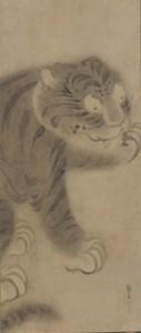 俵屋宗達(たわらやそうたつ)「虎図」(とらず) 江戸時代/ 17 世紀 紙本墨画 1 幅