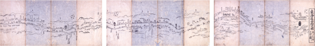 東海道分間絵図
