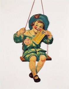 ブランコボーイハンガー広告