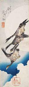 「月に雁」