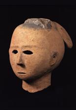 人物形埴輪(女子頭部)