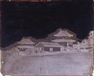 江戸城本丸書院二重櫓と重箱二重櫓 横山松三郎/撮影