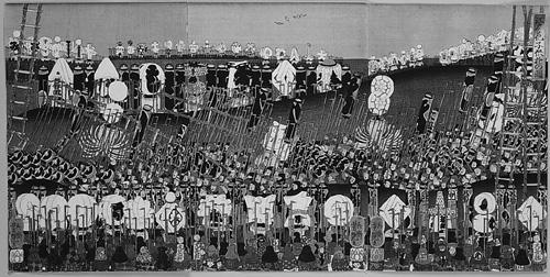 江戸ノ花 子供遊の図 1860年(万延1)歌川芳艶 画