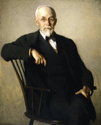 M4311, Portrait of Edward Sylvester Morse 1838-1925, painting by