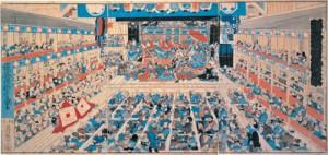 踊形容江戸絵栄 (おどりけいようえどえのさかえ) 1858年(安政5)