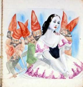 白雪姫・・・水木しげる作 1938年(c)水木プロダクション