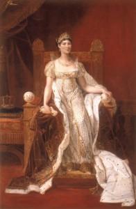 「ギヨーム・ギヨン(通称ギヨン=ルチエール) 《正装の皇妃ジェゼフィーヌ》 ©Jean-Marc Manai,Chateau de Versailles
