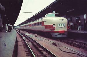 ビジネス特急「こだま」151系電車(旧20系)