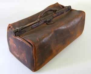 夏目漱石の鞄 明治30年代