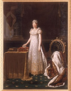 ロベール・ルフェーヴル 《皇妃マリー=ルイーズ》 ©Jean-Marc Manai,Chateau de Versailles
