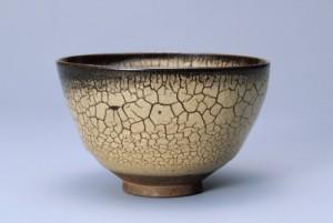 蛇蝎釉茶碗