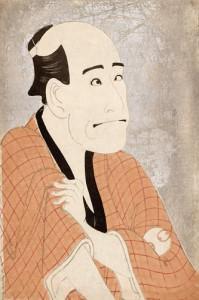 東洲斎写楽 「二代目嵐龍蔵の金貸石部金吉」