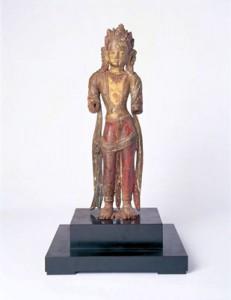 木造菩薩像