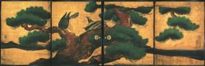 二条城二の丸御殿 大広間四の間 松鷹図の画像