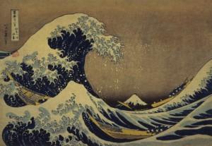 冨嶽三十六景 神奈川沖浪裏 1832年(天保2)頃 当館蔵