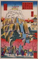 「東京名所之内浅草公園富士山之図」 1888年(明治21) 当館蔵