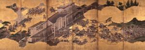 [保元合戦図屏風] 江戸時代/馬の博物館蔵