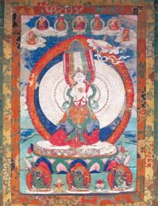 白傘蓋仏母像