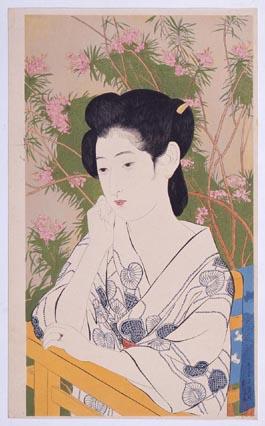 温泉宿 橋口五葉/画  1950~52年(昭和25~27)  資料番号:10000210
