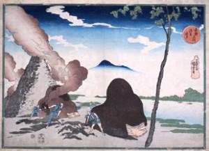 歌川国芳「東都名所 浅草今戸」の画像