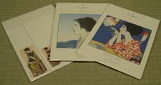 竹久夢二レターセット:400円