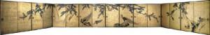 重要文化財「松に孔雀図襖絵」 寛政7年(1795)