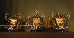 浅草神社宮神輿三基(三社神輿) 写真提供:浅草神社
