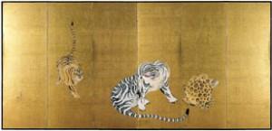 「猛虎図」 宝暦~明和期 個人蔵