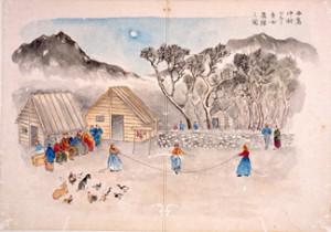 小笠原諸島調査の画帖の画像