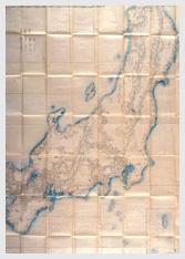 官板実測日本地図のうち 畿内・東海・東山・北陸道 1867 年(慶応 3 )