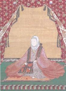 「福井県指定文化財 絹本著色京極高次夫人像」