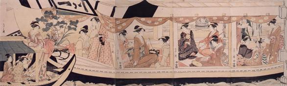 隅田川舟遊びの画像