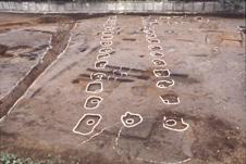 御殿前遺跡 SB010建物跡全景