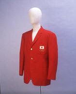「東京オリンピック日本代表選手用公式ブレザー」 1964年(昭和39)