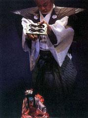 江戸糸あやつり人形公演の様子